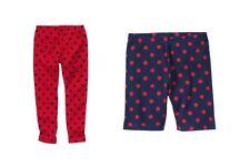 NWT Gymboree Homecoming Kitty red polka dot leggings 6 or navy biker shorts 4T
