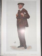 Charles Finch, 8th Comte de AYLESFORD: Original 1907 EDWARDIAN Vanity Fair Print