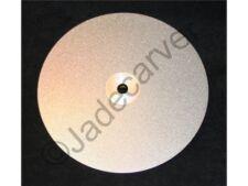 "8"" Diamond Flat Lap Disk, 180 grit, Sollid Steel, 1/2"" Hole"