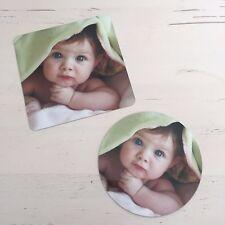 Personalised Custom Photo Gift Fridge Magnet, Large 9/10cm Any Artwork Logo Text