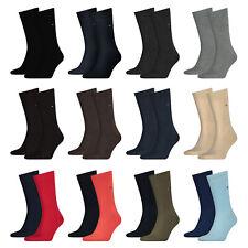 TOMMY HILFIGER Herren Business Socken, Classic, 2 4 6 8 10 12 Paar Strümpfe Uni