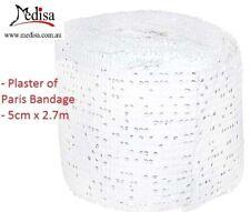 Universal Orthopaedic Plaster of Paris Bandage 5cm x 2.7m, 12/24/48/240/360pcs