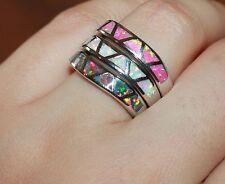 -fire-opal-ring-sz-6-65-8-gemstone-silver-jewelry-modern-curvy-wedding-band-d4