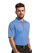 Glenmuir Mens Kinloch Pique Plain Short Sleeve Summer Golf Polo Shirt