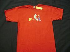 Enjoi Patchwork Panda Logo Skateboard T-Shirt Red