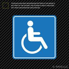 Handicap Sticker Die Cut Decal Self Adhesive Vinyl Wheelchair Accessible