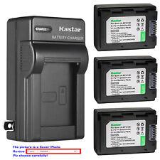 Kastar Battery Wall Charger for Samsung IA-BP210E IA-BP420E & Samsung HMX-H200
