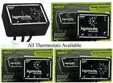 Komodo Thermostat 100w 300w, Dimming Thermostat 600w, Pulse Thermostat 600w