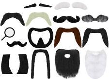 FACIAL HAIR BEARD MOUSTACHE EYEBROWS COSTUME ACCESSORY DISGUISE FANCY DRESS