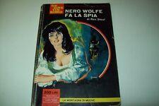 SEGRETISSIMO MONDADORI-N. 59-REX STOUT-NERO WOLFE FA LA SPIA-9 AGOSTO 1964