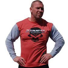 Brachial Longsleeve Truly Rot Red Bodybuilding Fitness