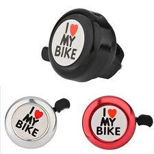 Fahrrad Klingel GlockeFahrradklingel Mini Glocke ICH LIEBE DICH ;X