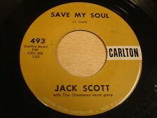 JACK SCOTT - GOODBYE BABY / SAVE MY SOUL / 45 CARLTON