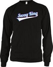 Swag King Swagger Moxy Mojo Street Gangsta Baller Long Sleeve Thermal