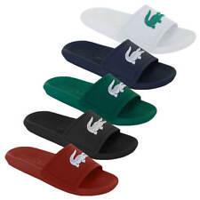 6d1ca3435915a Lacoste Mens 2019 Croco Slide 119 1 CMA Water Repellent Synthetic Flip Flops
