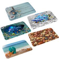 Vivid 3D Print Floor Carpets Summer Sea Rug Living Room Kitchen Bathroom Mat