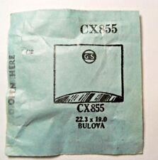 BULOVA OXFORD WALTHAM BARTLETT BELMONT GS CX855 Replacement Watch Crystal NOS