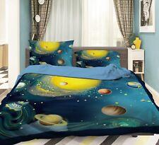 3D Sky Planet Boy 66 Bed Pillowcases Quilt Duvet Cover Set Single Queen AU Carly