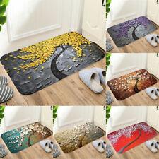 Hot Rectangle Non-Slip Door Bedroom Kitchen Entrance Print Floor Mat Doormat