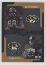 2008 Upper Deck Draft Edition #237 Martin Rucker Adam Spieker Missouri Tigers