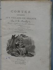 Jean Nicolas BOUILLY - CONTES OFFERTS AUX ENFANTS DE FRANCE - 1824
