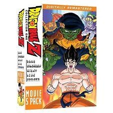 Dragon Ball Z . Movie Pack 1 One . Movies 1 2 3 4 5 . Anime . 5 DVD . NEU . OVP