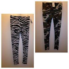 deed0cfcd3451 Derek Heart Leggings Stretchy Pants Yoga Skinny Camouflage or Zebra