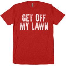 Get Off My Lawn grumpy old men guys rule farmer rancher merica usa tee t shirt
