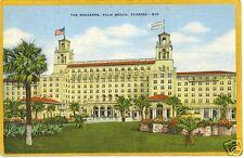 Advertising Postcard - The Breakers Palm Beach FL
