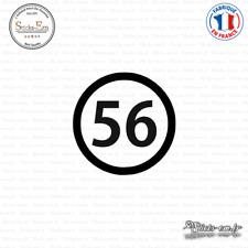 Sticker Département 56 Morbihan Vannes Bretagne BZH Decal Aufkleber Pegatinas