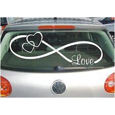 Aufkleber Hochzeit Unendlich Zeichen Liebe Love Herzen Autoaufkleber Sticker