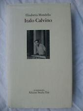 ITALO CALVINO E.MONDELLO ED. STUDIO TESI 1990