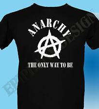 Anarchy T-Shirt Grunge Punk Rock Anarchist The 70s Sex Pistols 3XL 4XL 5XL 90's