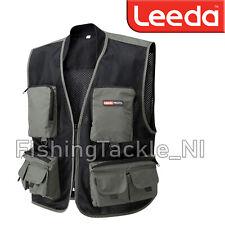 Leeda Profil Fly Vest - Lightweight Mesh Quick Drying Fishing Vest