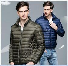Men's Winter Warm Lightweight Hooded 90% Down Jacket Puffer Parka Coat LHM15