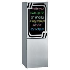 Chalkboard fridge sticker + free chalks and sponge. Four colours available UK!!!