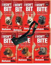 Mikki Chien Museau - 13 Tailles pour les chiens mâles & Bitches ainsi que court nez Chiens