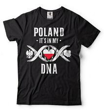 Poland Polish Heritage T-shirt Proud Polish Heritage Pride Stylized Shirt