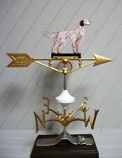 English Setter Dog Weather Vane weathervane bird hunter hunting cabin #513