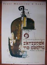 Fiddler On the Roof - Jerry Bock and Joseph Stein  - Polish Poster - Kaja