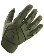 Nuevos guantes de protección de nudillos rígido Kombat Alfa Verde MULTICAM NEGRO