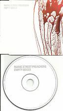 MANIC STREET PREACHERS Empty Souls Made in EUROPE PROMO DJ CD single SAMPCS14603