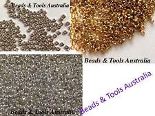 CRIMP BEADS - Asst Colours & Sizes - Jewellery Crimps Beading Crimps BUY IN BULK