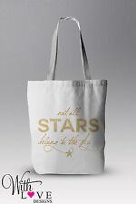 Non tutte le stelle appartengono al cielo tote shopper shopping bag regalo personalizzato
