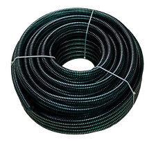 Teichschlauch 38mm 1 1/2 Zoll schwere Profiqualität grün/schwarz 520g/m