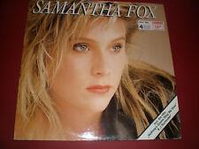 alte Vinyl Schallplatte SAMANTHA FOX LP Jive 146712
