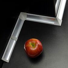 23mm PVC 1,5m - 3m ALLUMINIO CUCINA ALZATINA (c. viti GRATUITI) spuntata stecca