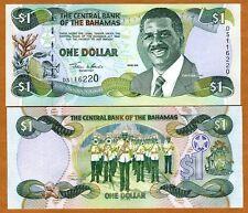 Bahamas, 1 dollar, 2001, P-69, UNC
