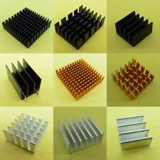 Dissipatore Cooler Dissipatore Di Calore in Alluminio Argento Black Gold Radiatore per chip IC
