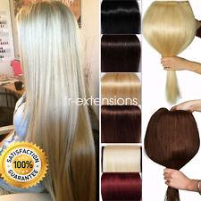 AAAAA+ U Tip/Nail Fusion Keratin Glue 100% Real Human Hair Extensions 1G/S uk